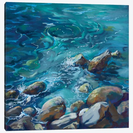 So Inviting Canvas Print #NWM116} by Nel Whatmore Art Print
