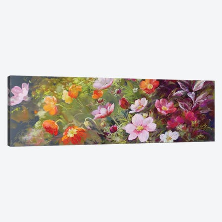 The Cut Flower Garden - Sunshine Canvas Print #NWM118} by Nel Whatmore Canvas Art