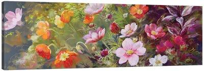 The Cut Flower Garden - Sunshine Canvas Art Print