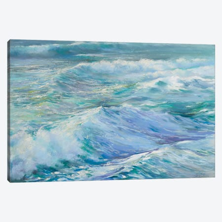 Nothing Stands In My Way Canvas Print #NWM132} by Nel Whatmore Canvas Wall Art