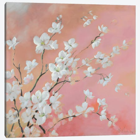 The Beauty Of Blossom Canvas Print #NWM135} by Nel Whatmore Canvas Art Print