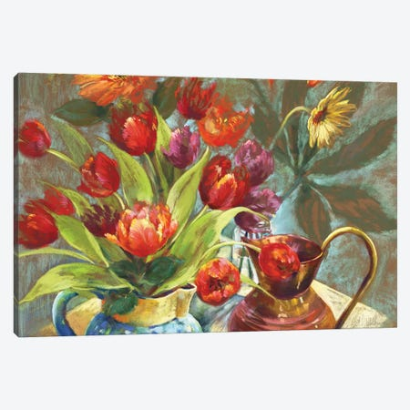 Devon Studio Canvas Print #NWM14} by Nel Whatmore Canvas Print