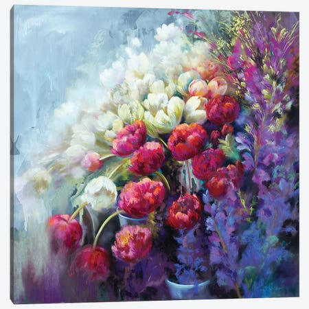 Fabulous Florist Canvas Print #NWM18} by Nel Whatmore Canvas Wall Art