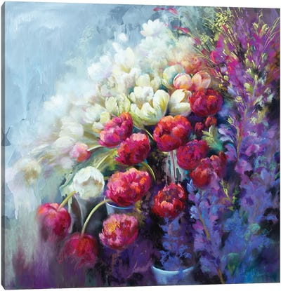 Fabulous Florist Canvas Art Print