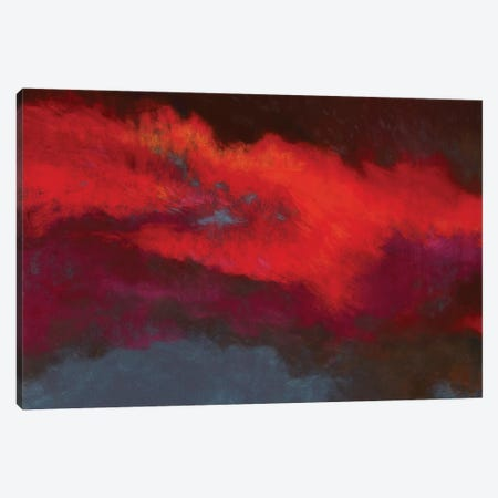 Fields Of Fire Canvas Print #NWM19} by Nel Whatmore Canvas Artwork