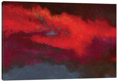 Fields Of Fire Canvas Art Print