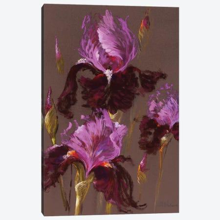 Fleur-de-lis Canvas Print #NWM20} by Nel Whatmore Art Print