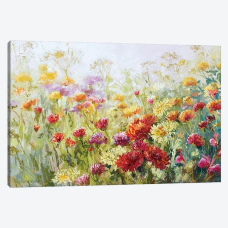 From The Garden To The Vase 3-Piece Canvas #NWM22} by Nel Whatmore Canvas Art Print