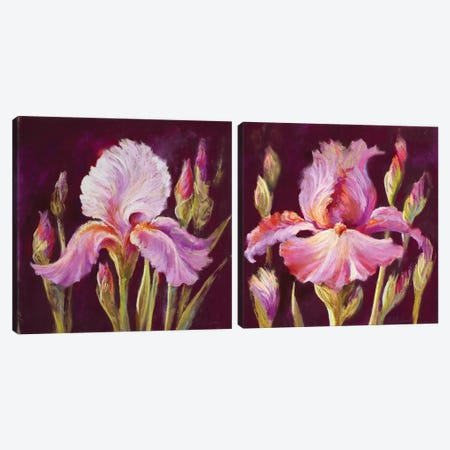 Her Arms Unfurled Diptych Canvas Print Set #NWM2HSET001} by Nel Whatmore Canvas Print