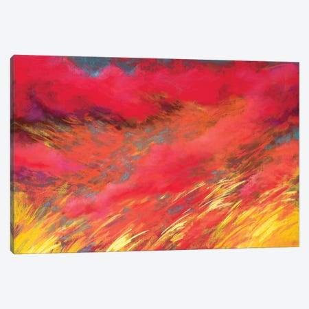 Hot Days Long Nights Canvas Print #NWM33} by Nel Whatmore Canvas Wall Art