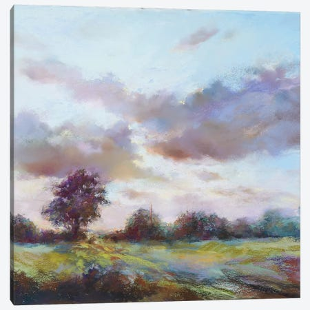 Last Breath Of The Day Canvas Print #NWM39} by Nel Whatmore Canvas Art
