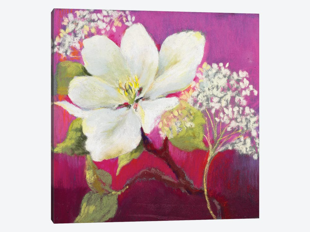 Apple Blossom I by Nel Whatmore 1-piece Canvas Art