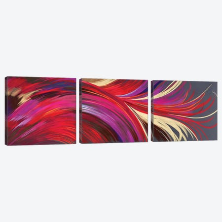 Riding The Wave Triptych Canvas Print Set #NWM3HSET001} by Nel Whatmore Canvas Print