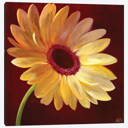 Little Miss Sunshine I Canvas Print #NWM43} by Nel Whatmore Canvas Art Print