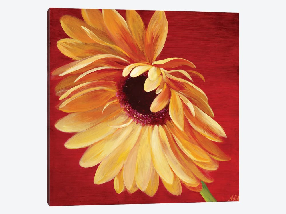 Little Miss Sunshine II by Nel Whatmore 1-piece Canvas Art