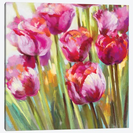 Looking Good Ladies! Canvas Print #NWM46} by Nel Whatmore Canvas Artwork