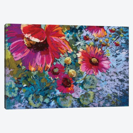Mini Rambling Riot Canvas Print #NWM48} by Nel Whatmore Canvas Print
