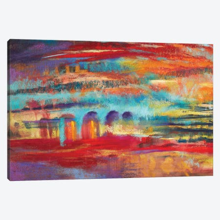 Passing Places Canvas Print #NWM55} by Nel Whatmore Art Print