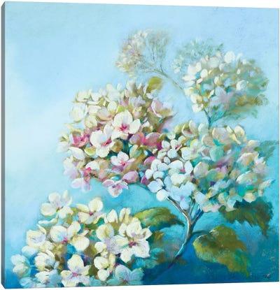 Perfect White Clouds Canvas Art Print