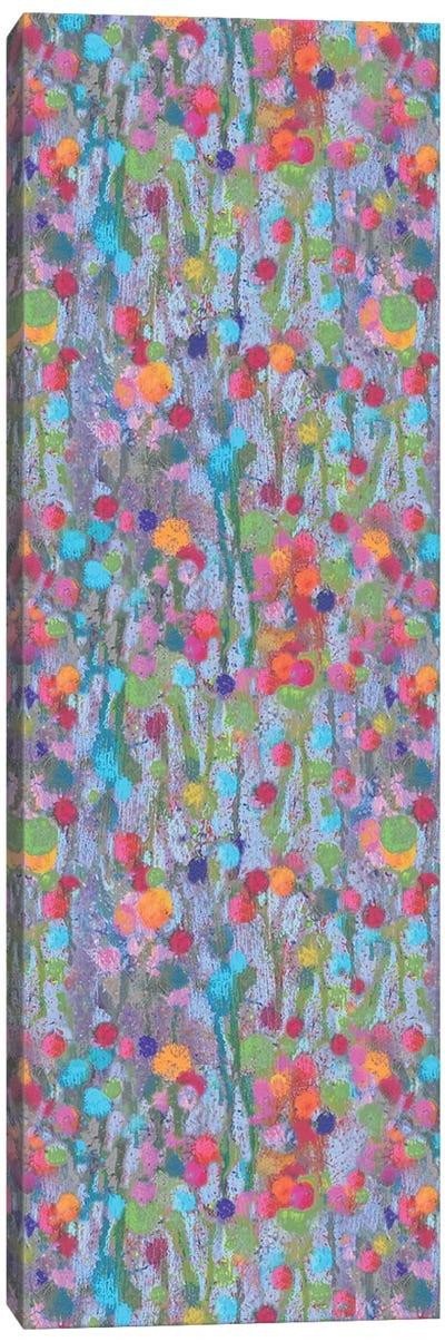 Pom-Pom Green Canvas Art Print