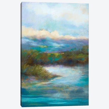 Quietly We Pause Canvas Print #NWM65} by Nel Whatmore Canvas Artwork
