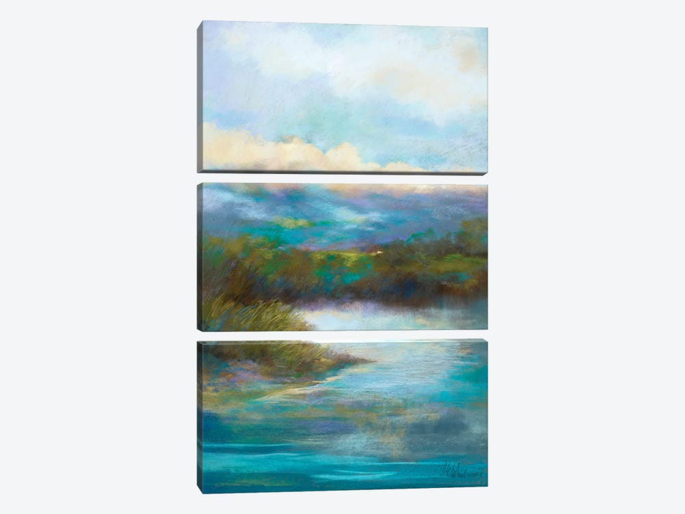 Quietly We Pause by Nel Whatmore 3-piece Canvas Art Print