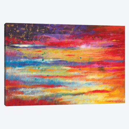Starry Night 3-Piece Canvas #NWM75} by Nel Whatmore Canvas Art Print