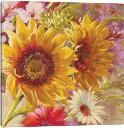 Summer Time Girls Canvas Art Print