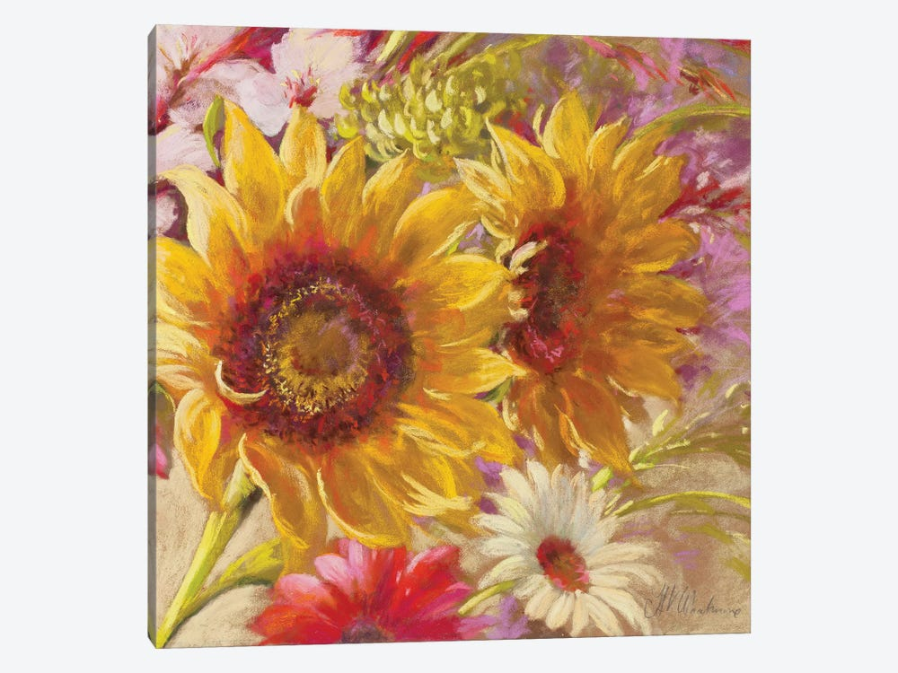 Summer Time Girls by Nel Whatmore 1-piece Canvas Print