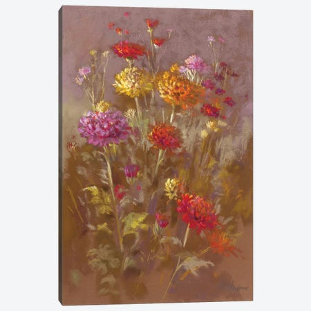 Sunset II Canvas Print #NWM79} by Nel Whatmore Canvas Artwork