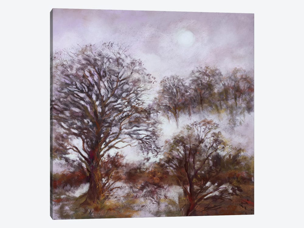 The Beauty Of A Misty Morning by Nel Whatmore 1-piece Canvas Art