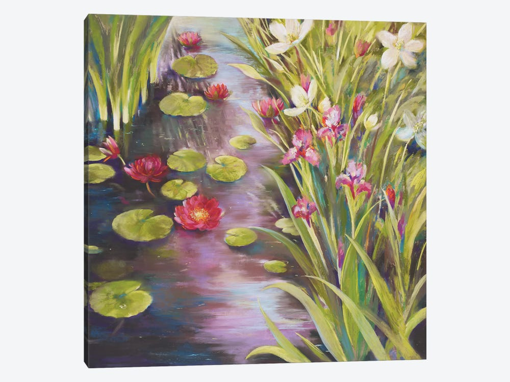 Upon Reflection by Nel Whatmore 1-piece Canvas Wall Art