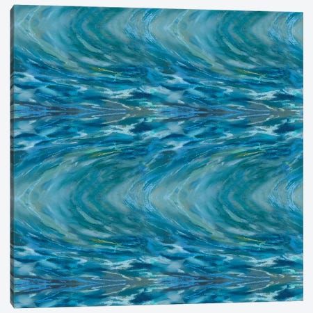 Emerald Wave 3-Piece Canvas #NWM96} by Nel Whatmore Canvas Art Print