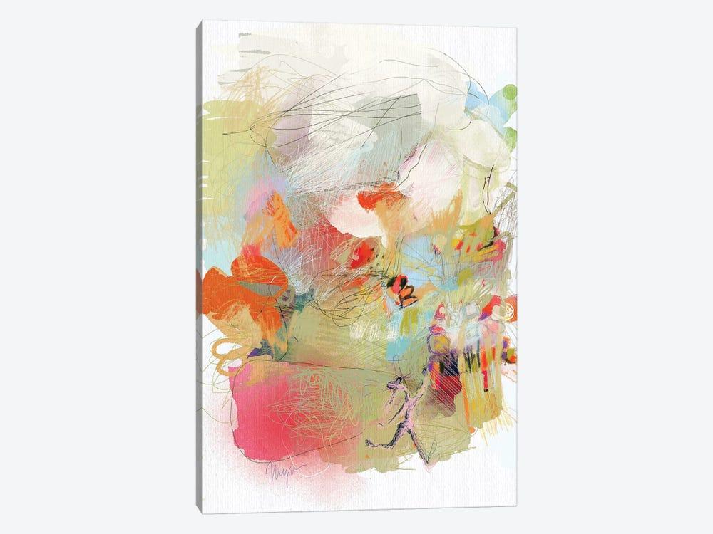 Girl Accomplishes Her Goal by Niya Christine 1-piece Art Print