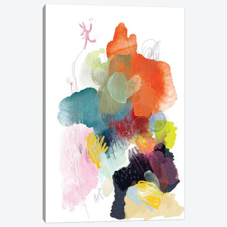 Playful World Canvas Print #NYA5} by Niya Christine Canvas Print