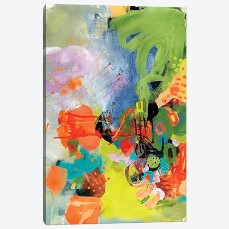 Summer Surprise Canvas Print #NYA6} by Niya Christine Art Print