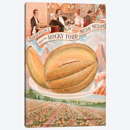 Genuine Rocky Ford Musk Melon Canvas Print #NYB11} by New York Botanical Garden Portfolio Canvas Artwork