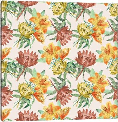 Flower Variety Canvas Art Print