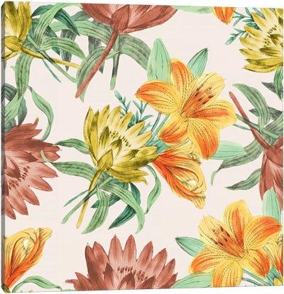Flower Variety, Close-Up Canvas Art Print