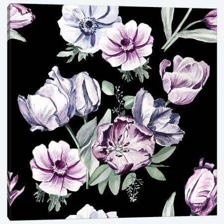 Moody Tulips, Close-Up Canvas Print #NYB35} by New York Botanical Garden Portfolio Art Print
