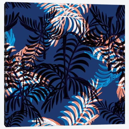 Blue Palms Canvas Print #NYB47} by New York Botanical Garden Canvas Art