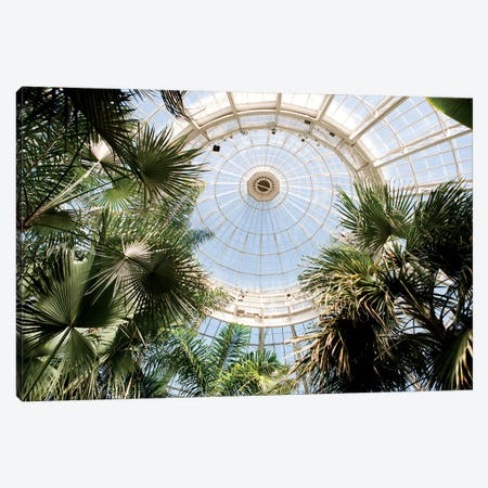 Enid A. Haupt Conservatory Dome Canvas Print #NYB9} by New York Botanical Garden Portfolio Canvas Print