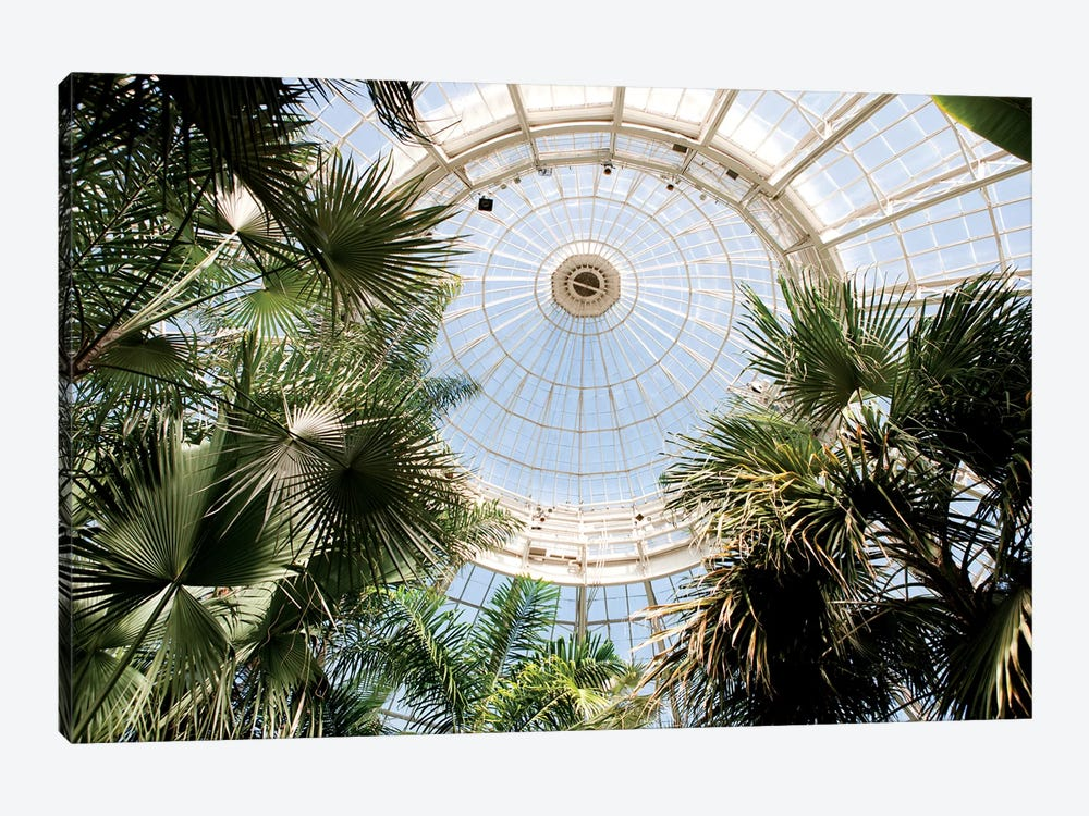 Enid A. Haupt Conservatory Dome by New York Botanical Garden 1-piece Canvas Wall Art
