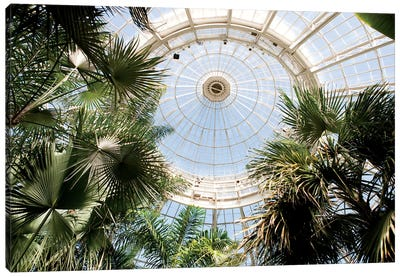 Enid A. Haupt Conservatory Dome Canvas Art Print