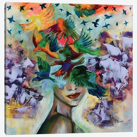 Essence Canvas Print #NYJ10} by Niyati Jiwani Canvas Artwork