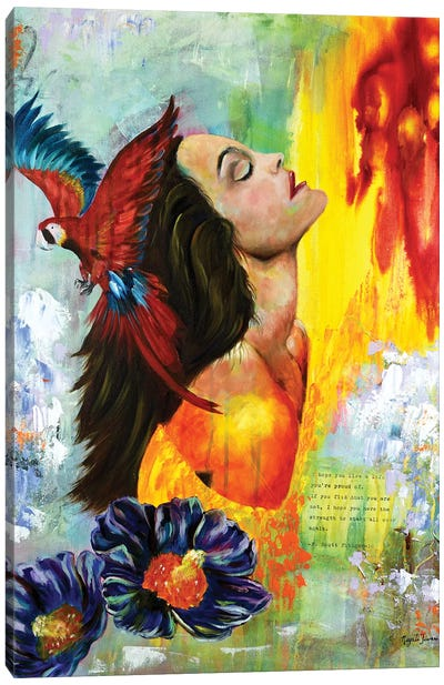 Feeling Bliss Canvas Art Print