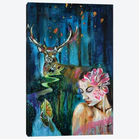 Feeling Divine Canvas Print #NYJ12} by Niyati Jiwani Canvas Wall Art