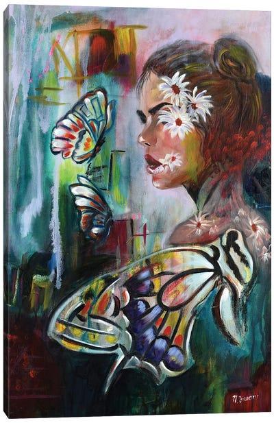 Flower Lovers Canvas Art Print