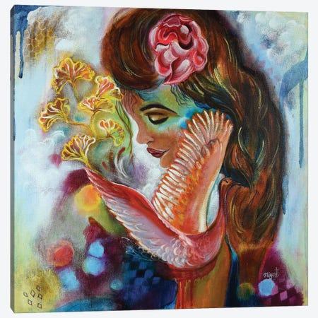 In My Paradise Canvas Print #NYJ17} by Niyati Jiwani Canvas Art Print