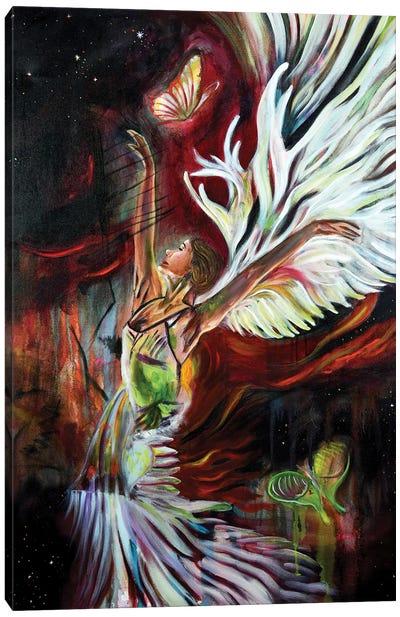 The Spark Canvas Art Print